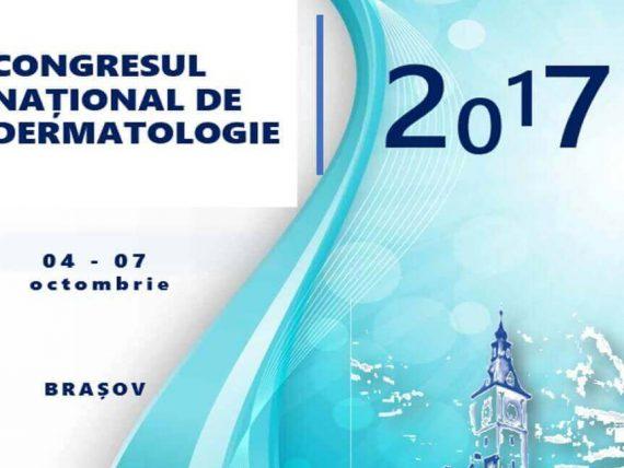 Congresul national de dermatologie SRD 2017 CND Brasov Octombrie Poster