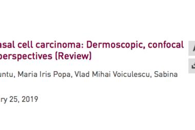 Recenzie - vascularizatia carcinomului bazocelular (Spandidos Publications)