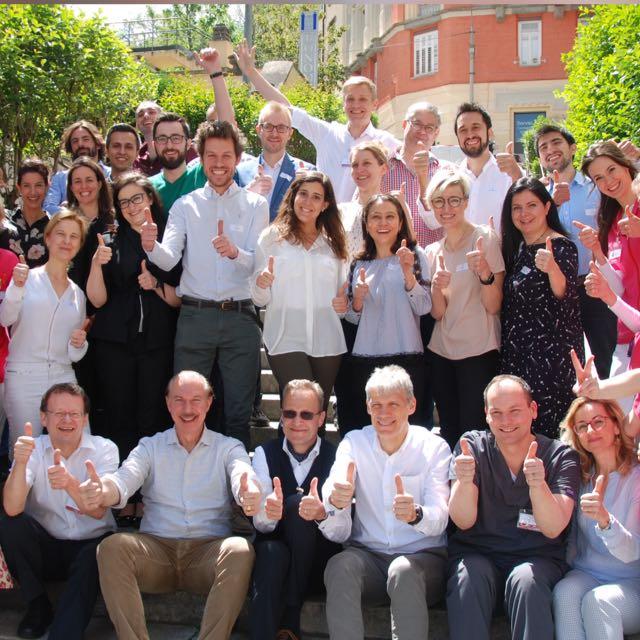 Participanti si lectori curs Mohs 2019 Trieste Italia